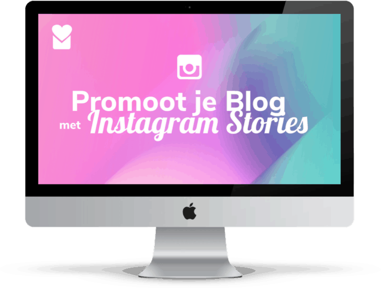 3D Cover Cursus Instagram Stories Webwinkel Blogs