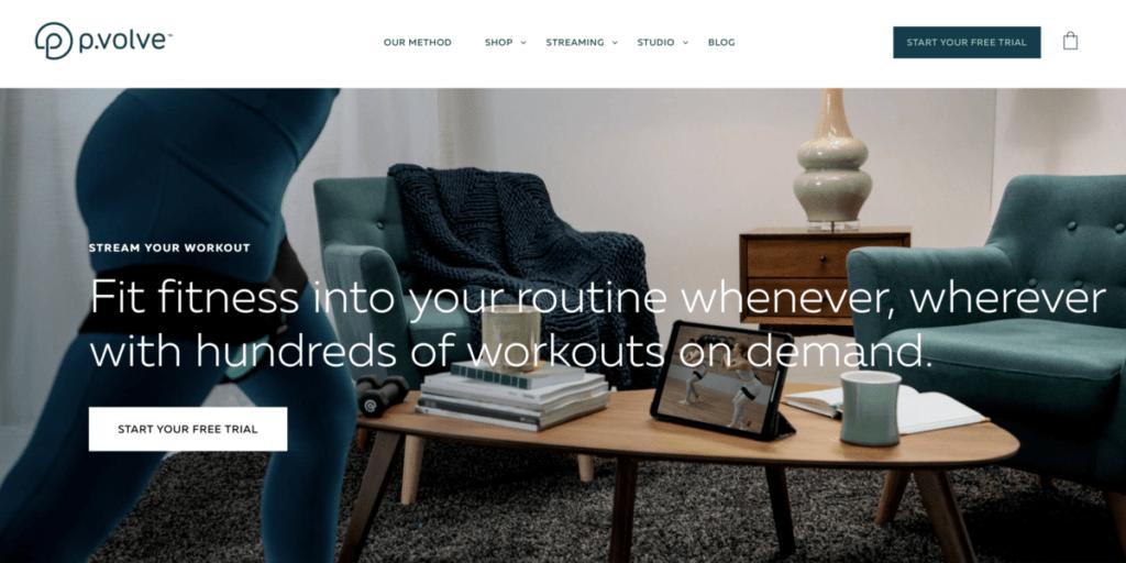Pvolve - streaming dienst online cursus aanbod