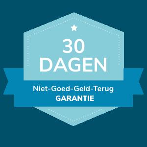 badge 30 dagen garantie