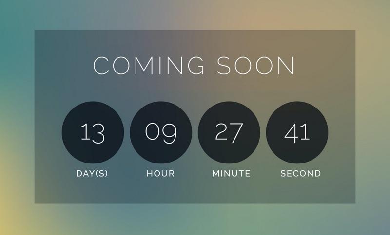 countdown timer klok