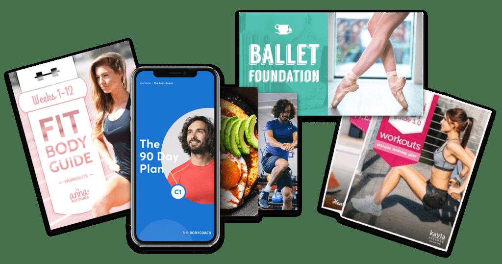 voorbeelden online cursussen health fitness