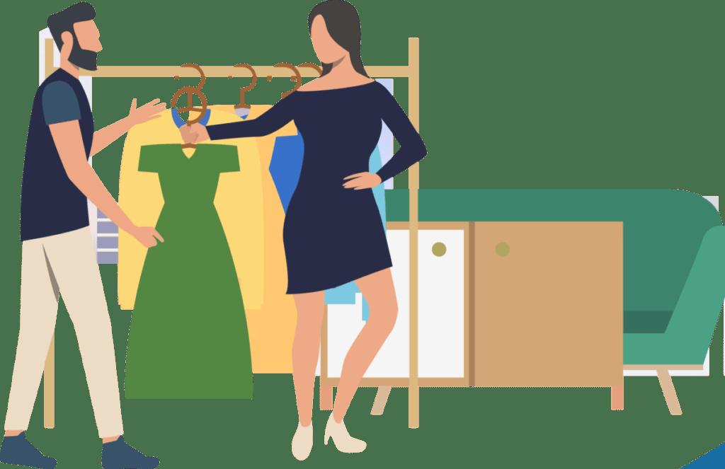 kleding verkopen en promoten