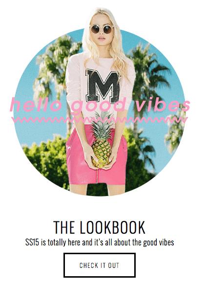 Fashion lookbook missguided