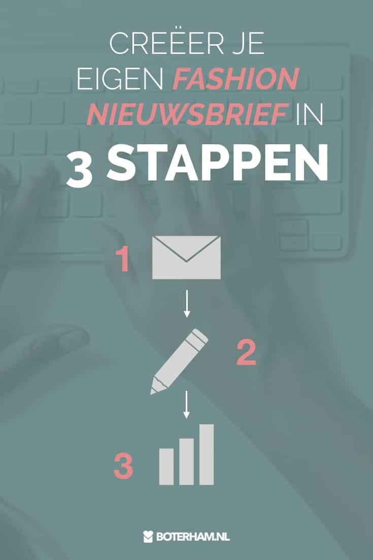 maak fashion nieuwsbrief in 3 stappen