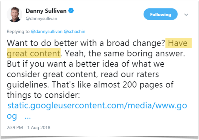 quote danny sullivan google