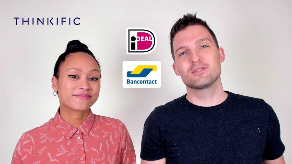 Thinkific koppelen met betaalmethoden zoals iDeal en Bancontact